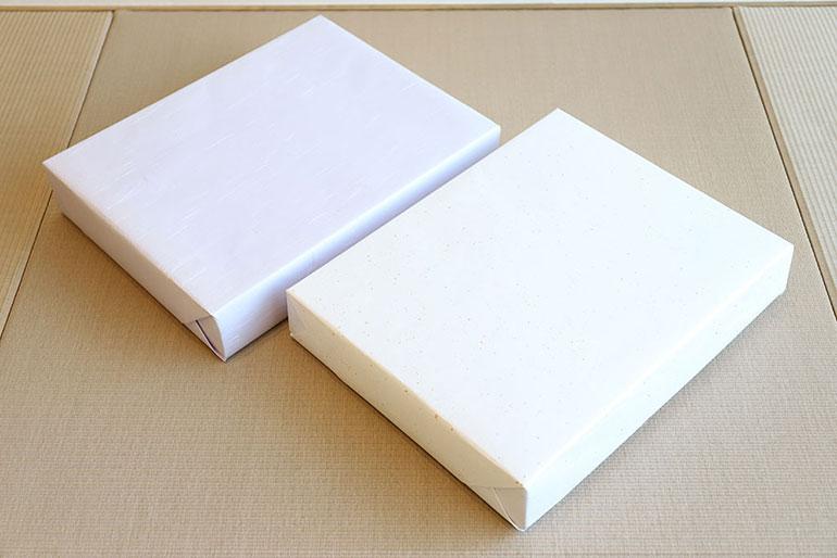 sara-la(さらら)の包装紙