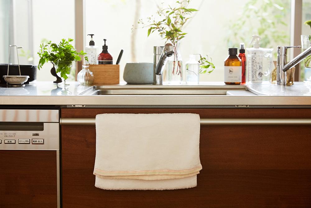 sara-laフェイスタオル+キッチン